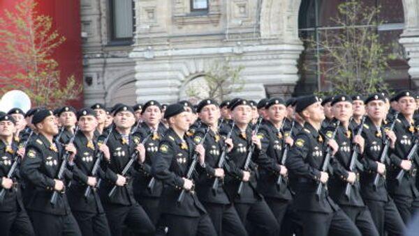 Militari durante la ripetizione della Parata della Vittoria. - Sputnik Italia