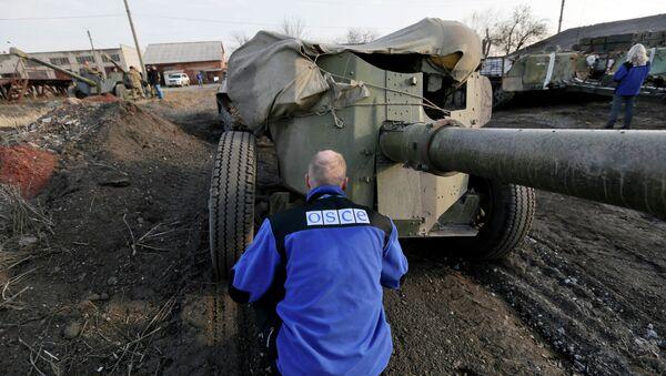 Ispettore OSCE nel Donbass - Sputnik Italia