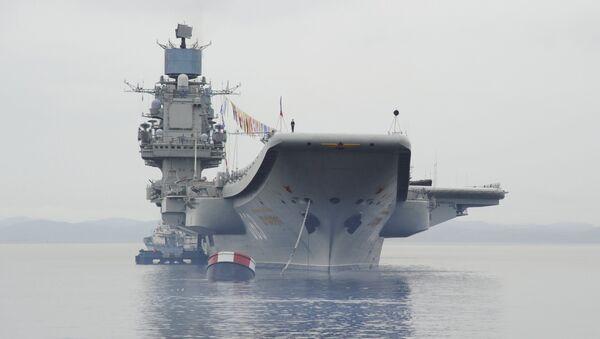 La portaerei Ammiraglio Kuznetsov - Sputnik Italia
