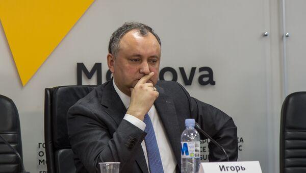 Igor Dodon - Sputnik Italia