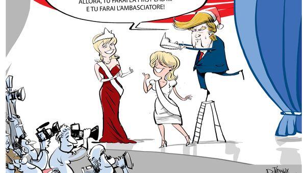 Trump e le sue donne - Sputnik Italia