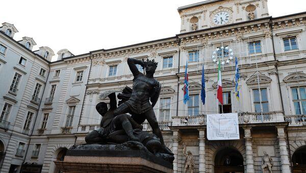 Torino, piazza Palazzo di Città - Sputnik Italia