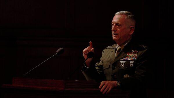 Ex generale americano James Mattis (foto d'archivio) - Sputnik Italia