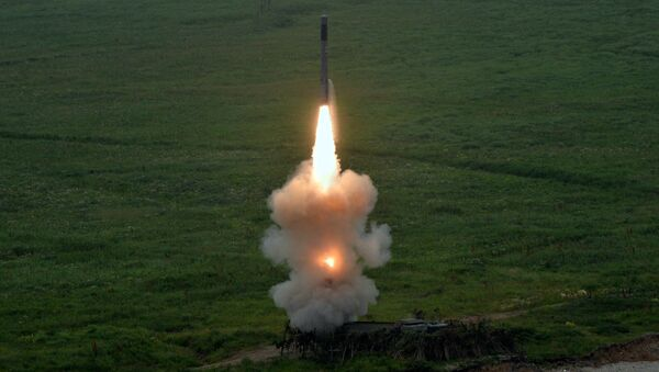 Missile lanciato dal nuovo sistema missilistico costiero Bastion - Sputnik Italia