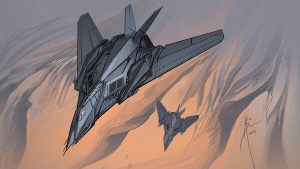 F-117 Nighthawk aerosaurs - Sputnik Italia