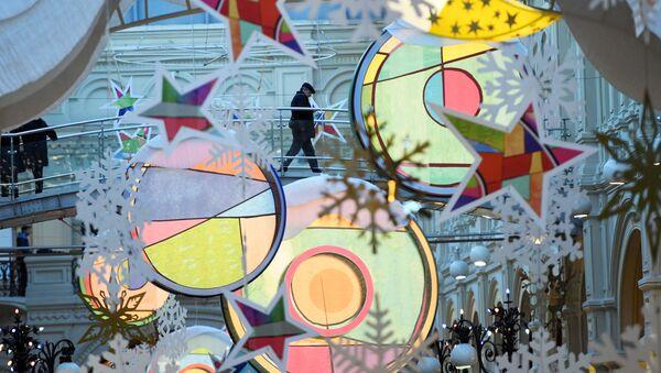 La magia delle feste di fine anno si avvicina - Sputnik Italia
