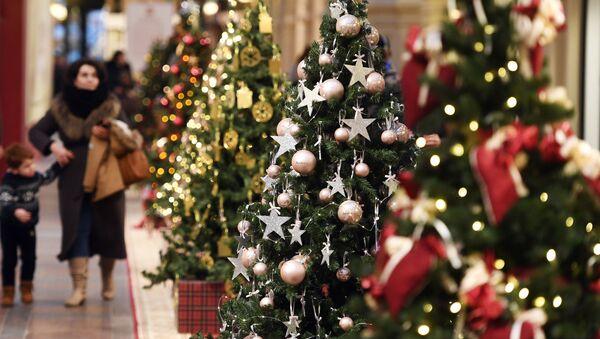 Alberi di Natale - Sputnik Italia