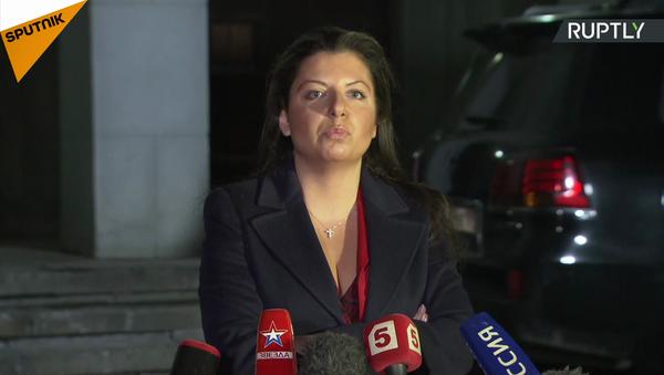 Il redattore capo di Sputnik Margherita Simonyan commenta la risoluzione dell'UE sui media - Sputnik Italia