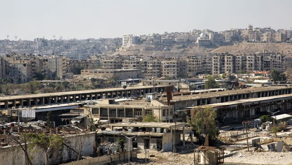 Zone orientali di Aleppo - Sputnik Italia