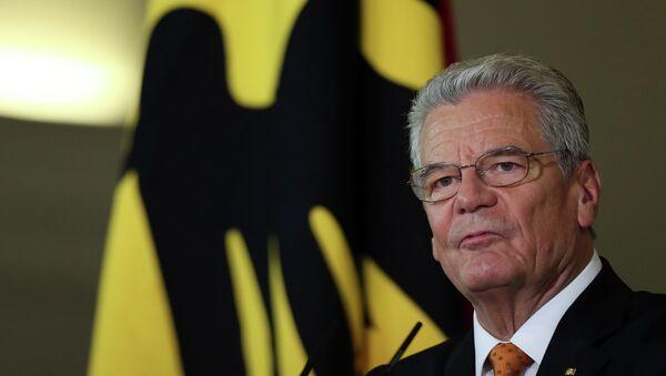 Il presidente della Germania Joachim Gauck - Sputnik Italia
