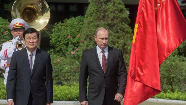 Официальный визит В.Путина во Вьетнам - Sputnik Italia
