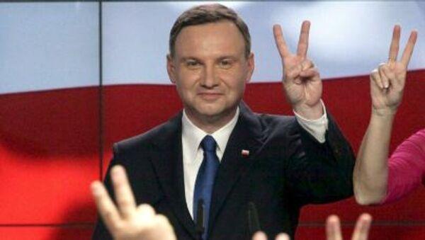 Polonia, neo-elettopresidente Andrzej Duda - Sputnik Italia