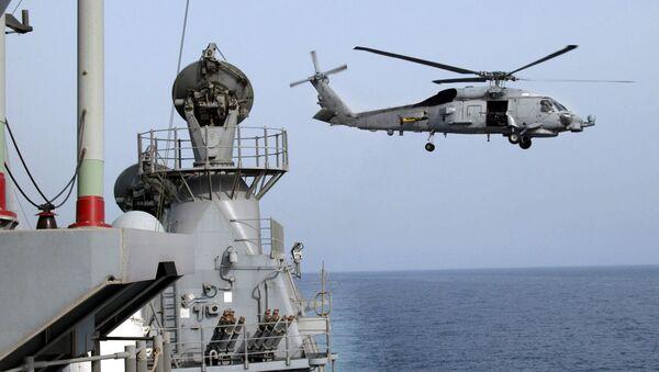 US SH-60 Seahawk Helicopter - Sputnik Italia