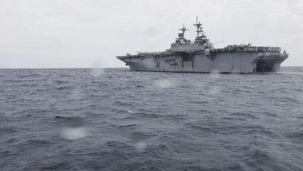 Nave da sbarco universale Wasp della Marina USA - Sputnik Italia