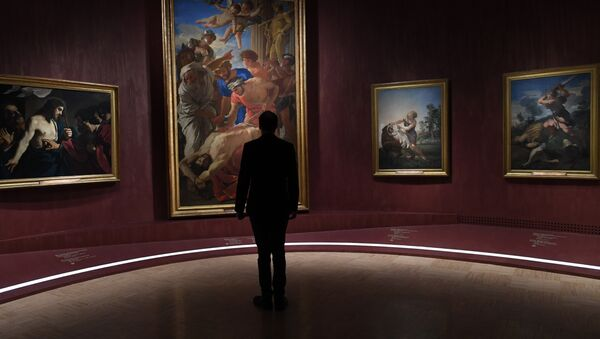 La più grande mostra al mondo della collezione dei Musei Vaticani Roma Aeterna a Mosca. - Sputnik Italia
