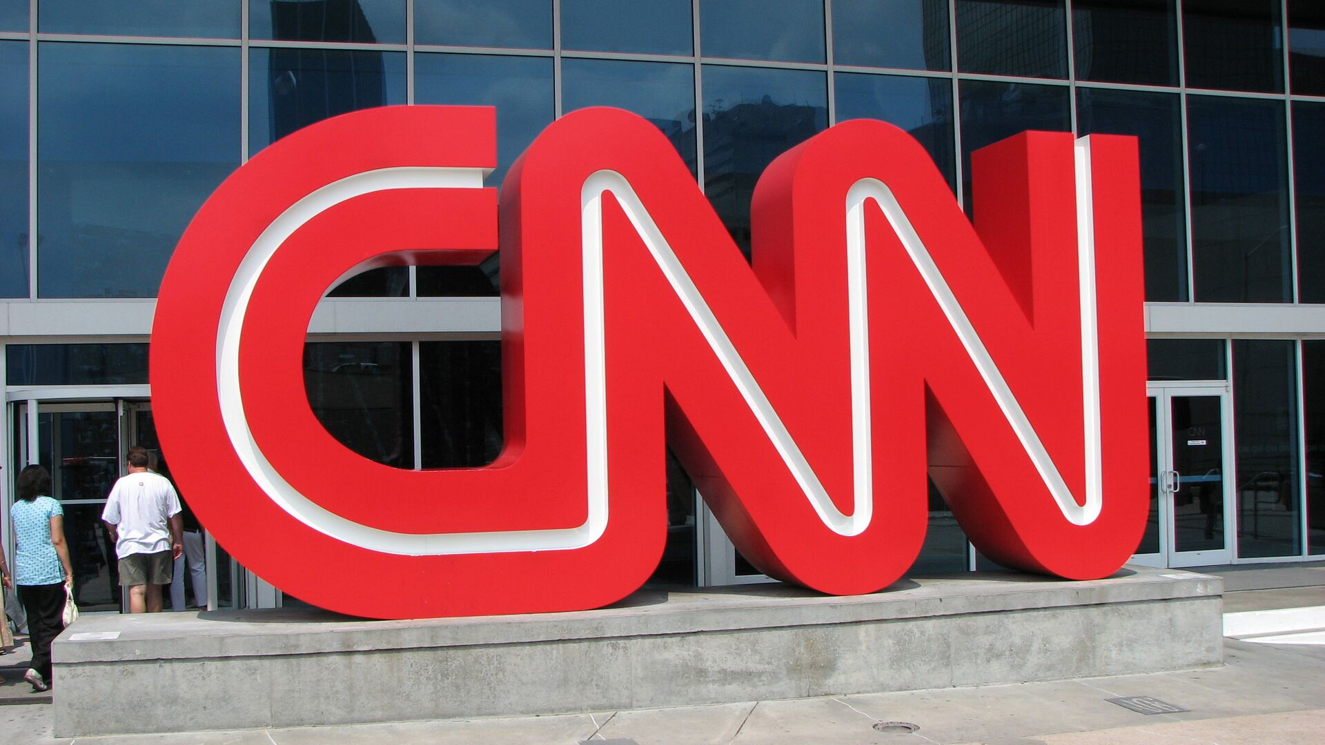 Outside CNN Center  - Sputnik Italia, 1920, 06.08.2021