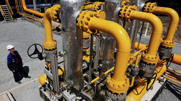 Alla stazione di distribuzione gas naturale - Sputnik Italia