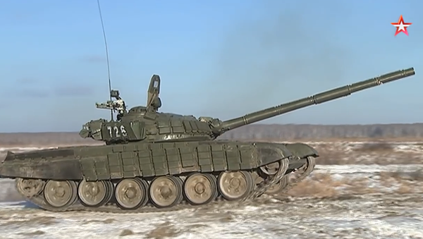 Le esercitazioni delle divisioni corazzate 90 - Sputnik Italia