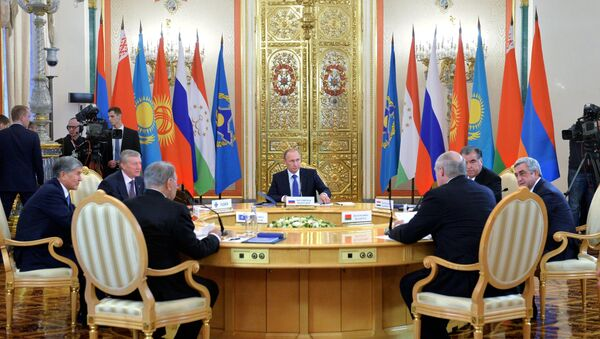 Russian President Vladimir Putin participates in CSTO and Supreme Eurasian Economic Council summits in Moscow - Sputnik Italia