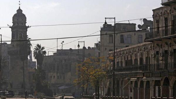 Площадь Баб-эль-Фарадж в старой части города Алеппо  - Sputnik Italia