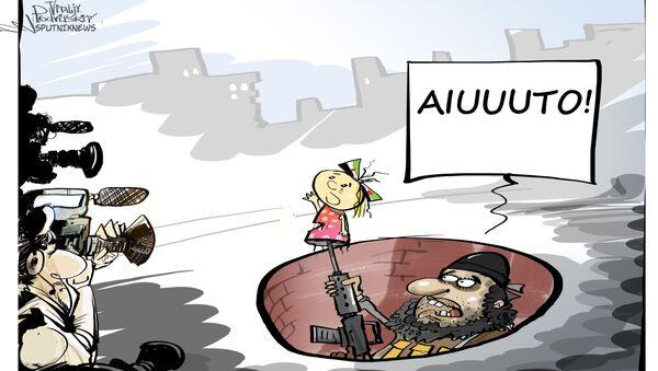 Teatro ad Aleppo - Sputnik Italia