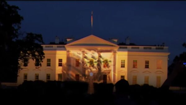 I Carri Armati russi sulla Casa Bianca a Washington. - Sputnik Italia
