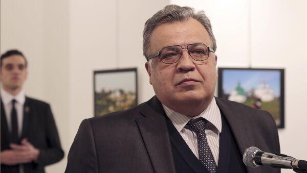Andrei Karlov, l'ambasciatore russo ad Ankara - Sputnik Italia