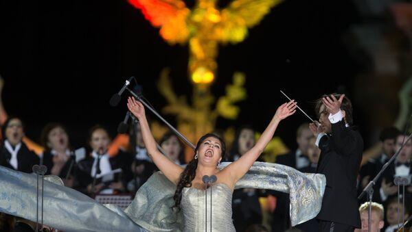 La soprano russa Anna Netrebko - Sputnik Italia
