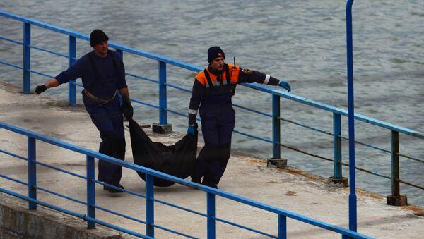 Russian Defense Ministry's TU-154 aircraft crash site in Sochi - Sputnik Italia