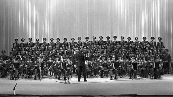 il Complesso Accademico di Canto e Ballo dell'Esercito Sovietico A.V. Aleksandrov - Sputnik Italia