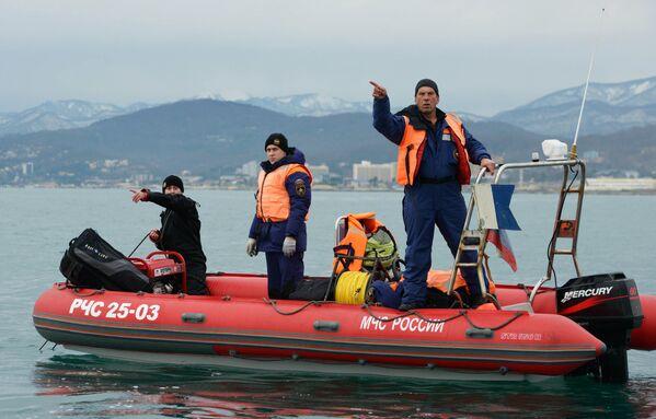 Recupero dei frammenti del TU-154 nel mar Nero - Sputnik Italia