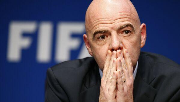 Presidente della FIFA Gianni Infantino - Sputnik Italia