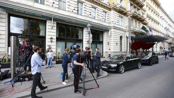 Giornalisti vicino alla sede dell'IAAF - Sputnik Italia
