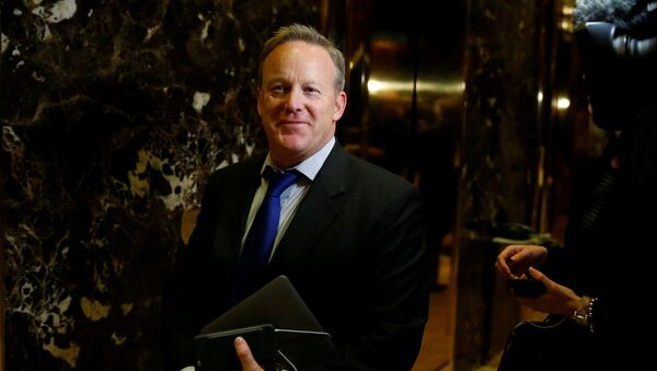 FILE PHOTO - Chief Strategist & Communications Director for the Republican National Committee Sean Spicer - Sputnik Italia