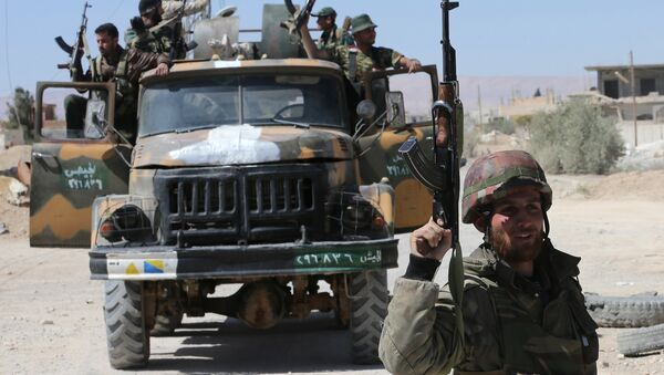 Syrian soldiers in the province of Homs (File) - Sputnik Italia