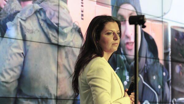 Сapo redattore dell'agenzia di Sputnik e del canale televisivo RT, Margarita Simonian - Sputnik Italia