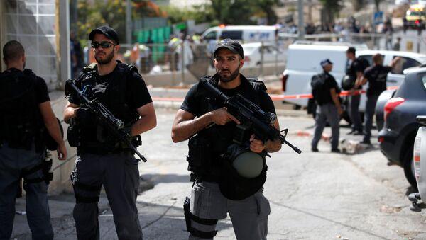 Polizia israeliana a Gerusalemme - Sputnik Italia