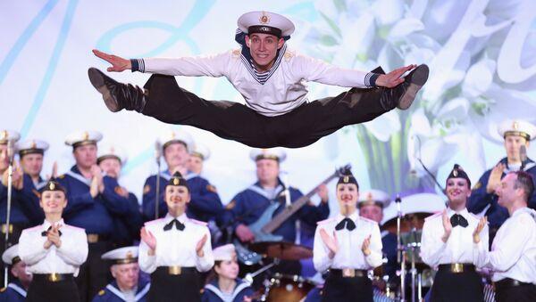 Un cadetto del corpo di ballo della Marina militare russa - Sputnik Italia