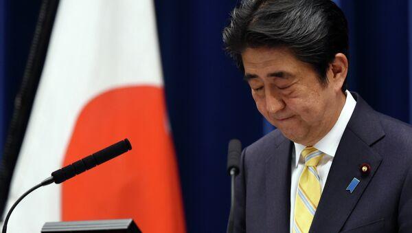 Il primo ministro giapponese Shinzo Abe - Sputnik Italia