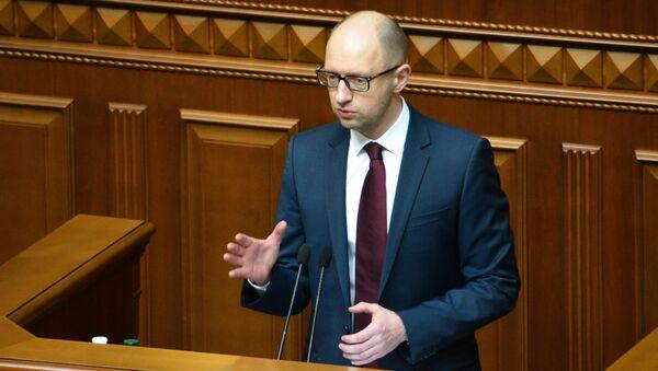 Arseniy Yatsenyuk - Sputnik Italia