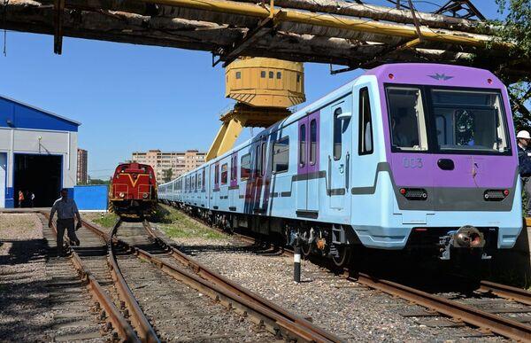 La fabbrica Metrovagonmash. - Sputnik Italia