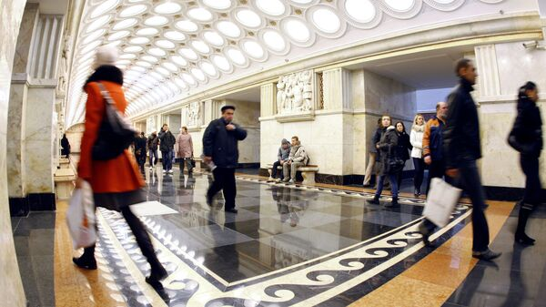La stazione della metro di Mosca Elektrozavodskaya. - Sputnik Italia
