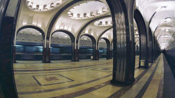Gli interni della stazione Mayakovskaya. - Sputnik Italia