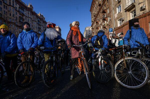 Biciclettata d'inverno a Mosca - Sputnik Italia