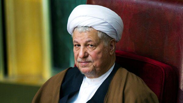 Former Iranian president Akbar Hashemi Rafsanjani attends Iran's Assembly of Experts biannual meeting in Tehran. (File) - Sputnik Italia