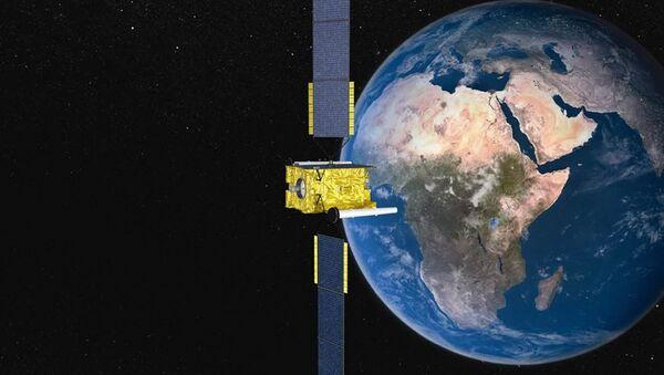 Satellite in orbit - Sputnik Italia
