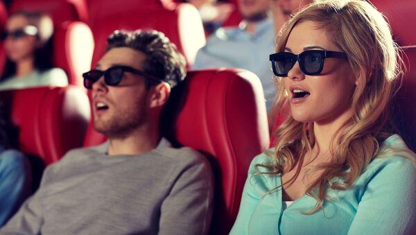 Spettatori in un cinema - Sputnik Italia