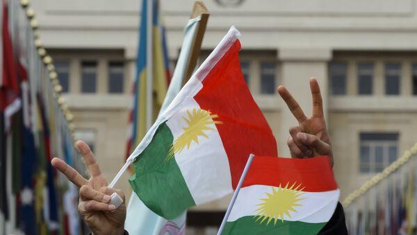 Bandiere del Kurdistan - Sputnik Italia