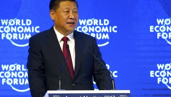 Chinese President Xi Jinping attends the World Economic Forum (WEF) annual meeting in Davos, Switzerland January 17, 2017. - Sputnik Italia