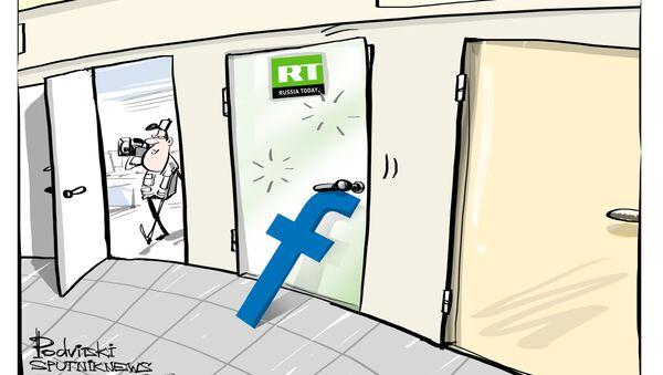 Russia Today bloccata da Facebook - Sputnik Italia
